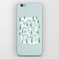 wonderland iPhone & iPod Skins featuring Wonderland by Nick Volkert