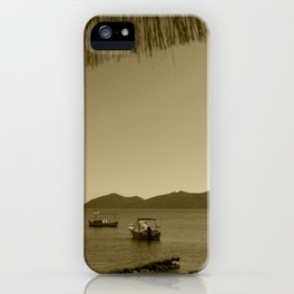 Es Canar Ibiza Tint iPhone Case