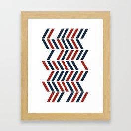 American design Framed Art Print