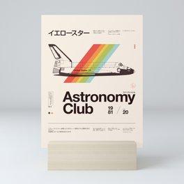 Astronomy Club Mini Art Print