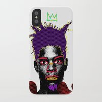 basquiat iPhone & iPod Cases featuring Basquiat by Kibwe Maono