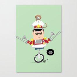 Captain Pizzazz Canvas Print