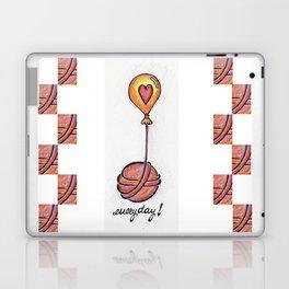 I Love Yarn Everyday! Laptop & iPad Skin