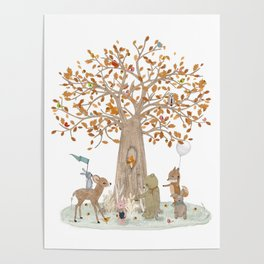 the little oak tree Poster
