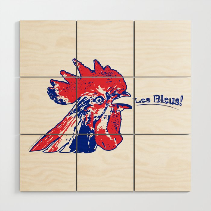 France Les Blues (The Blues) ~Group C~ Wood Wall Art