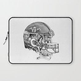 Football Helmet Laptop Sleeve