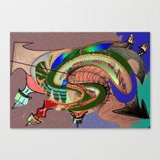 GMO Tadpole Canvas Print