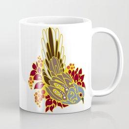 Diamond dove bird tribal tattoo Coffee Mug