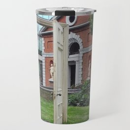 It starts with doors Travel Mug