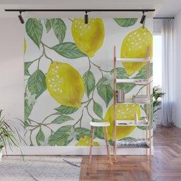 Life Giving You Lemons Wall Mural