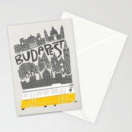 Budapest Cityscape Stationery Cards
