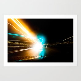 A night to die for. Art Print