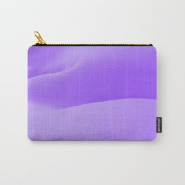 Purple Snow Carry-All Pouch