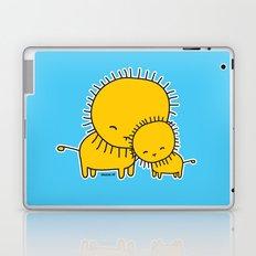 Lion Hug Laptop & iPad Skin