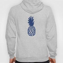 Navy Pineapple Hoody