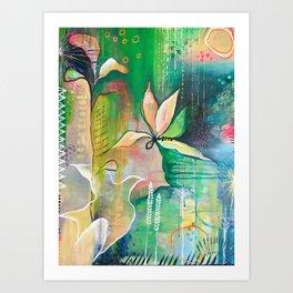 Bird of Peace Art Print