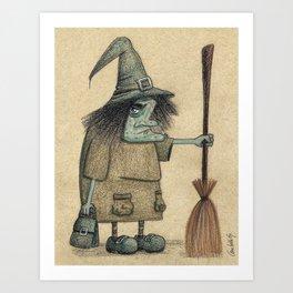 Witch / Bruja Art Print
