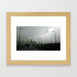 NYC Gate Framed Art Print