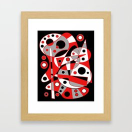 Abstract #961 Framed Art Print