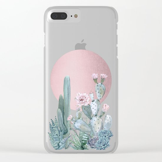 Desert Sunset by Nature Magick Clear iPhone Case