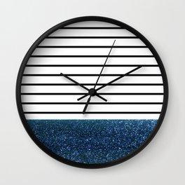 MaRINiera with night blue Wall Clock