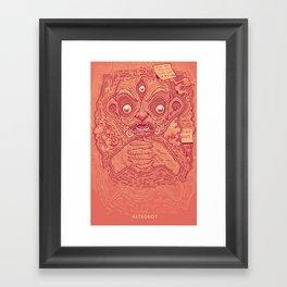1000 Pots Framed Art Print