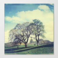 Calton Hill Canvas Print