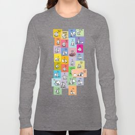 collage of bob Long Sleeve T-shirt