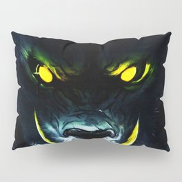 This monster mouth too cruel Pillow Sham