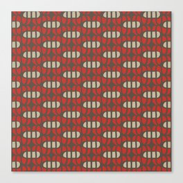 Crossed ovals Canvas Print