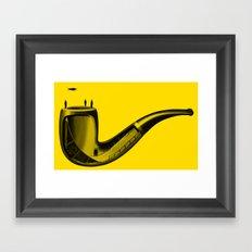 Half Pipe Framed Art Print