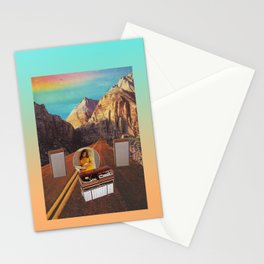 The sound fantasy Stationery Cards