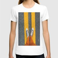 converse T-shirts featuring Converse Contrast by jyoshimitsuj