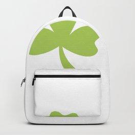 Shamrocks ST. Patrick's Day Women's Funny Backpack