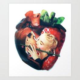 Organic | Collage Art Print