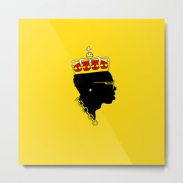 Big Maestro - Yellow Metal Print