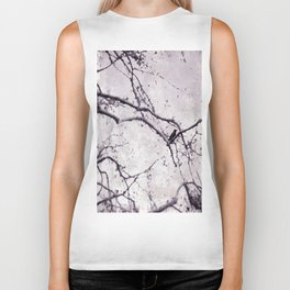 Winter Crow Biker Tank