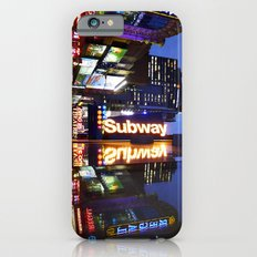 'Times Square NYC ~ BRIGHT LIGHTS' iPhone 6s Slim Case