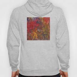 Victory Garden Abstract Painting Hoody