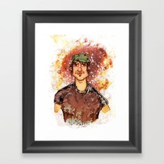 Robert Rodriguez Framed Art Print