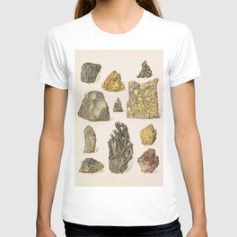 Vintage Gold Minerals T-shirt