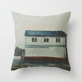 The Last House on the road Throw Pillow
