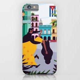 Havana ft. Salsa Dancers iPhone Case