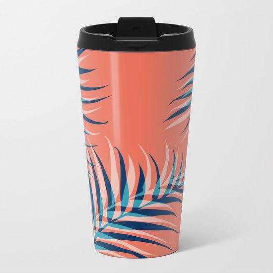 Palms Vision III #society6 #decor #buyart Metal Travel Mug