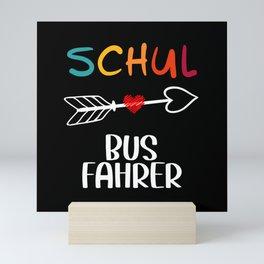 School Bus Driver Bus Driver Gift Mini Art Print