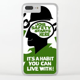 Job safety Clear iPhone Case