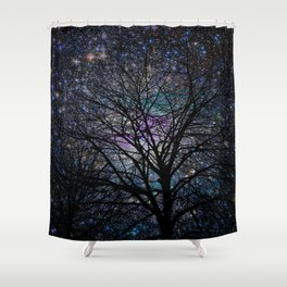 gorgeous darkness Shower Curtain