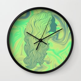 WHEN I FOUND THE THIRD ROOM Wall Clock