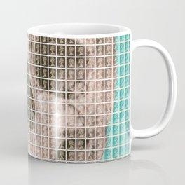 Skull - Light Blue Coffee Mug