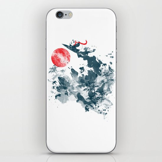 Go!Go! surf time! iPhone & iPod Skin